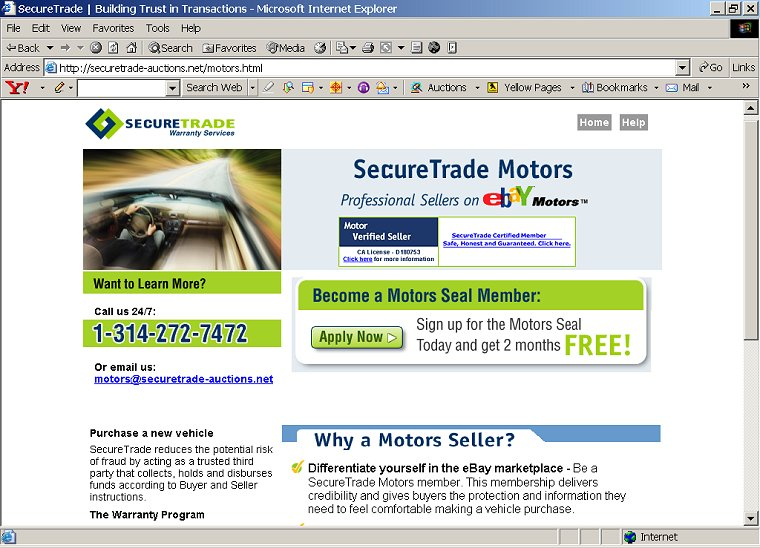 Secure Trade Auctions Scam Escrow Website - Don't Get Phished!